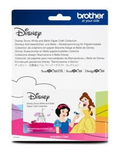 Collection 6 de gabarits Blanche-Neige et Belle